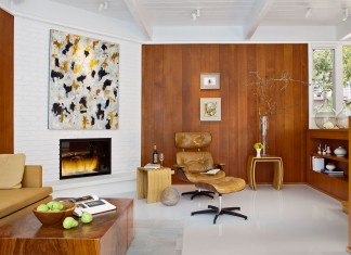 Carmel Mid-Century LEED Home by Studio Schicketanz