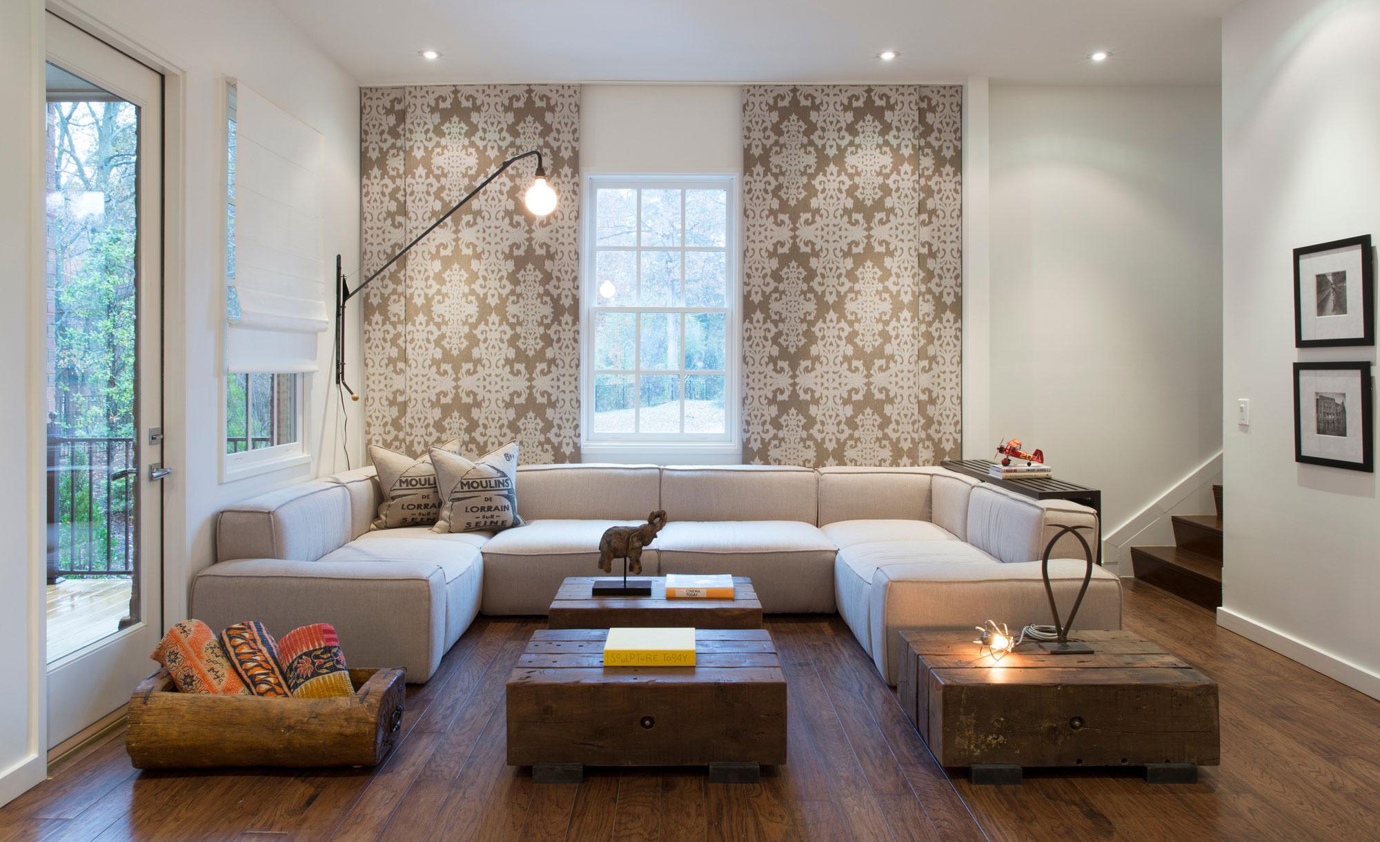Chic oglethorpe home in atlanta by cecconi simone for Home designers atlanta