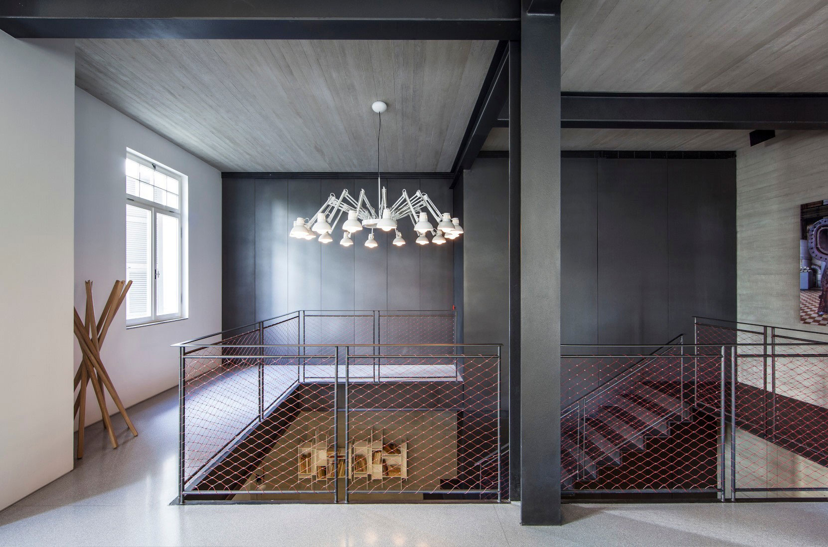 Combination of Modern Design and Neo-Classical Structure of a Historical Apartment in the Heart of Tel Aviv by Pitsou Kedem Architects-12