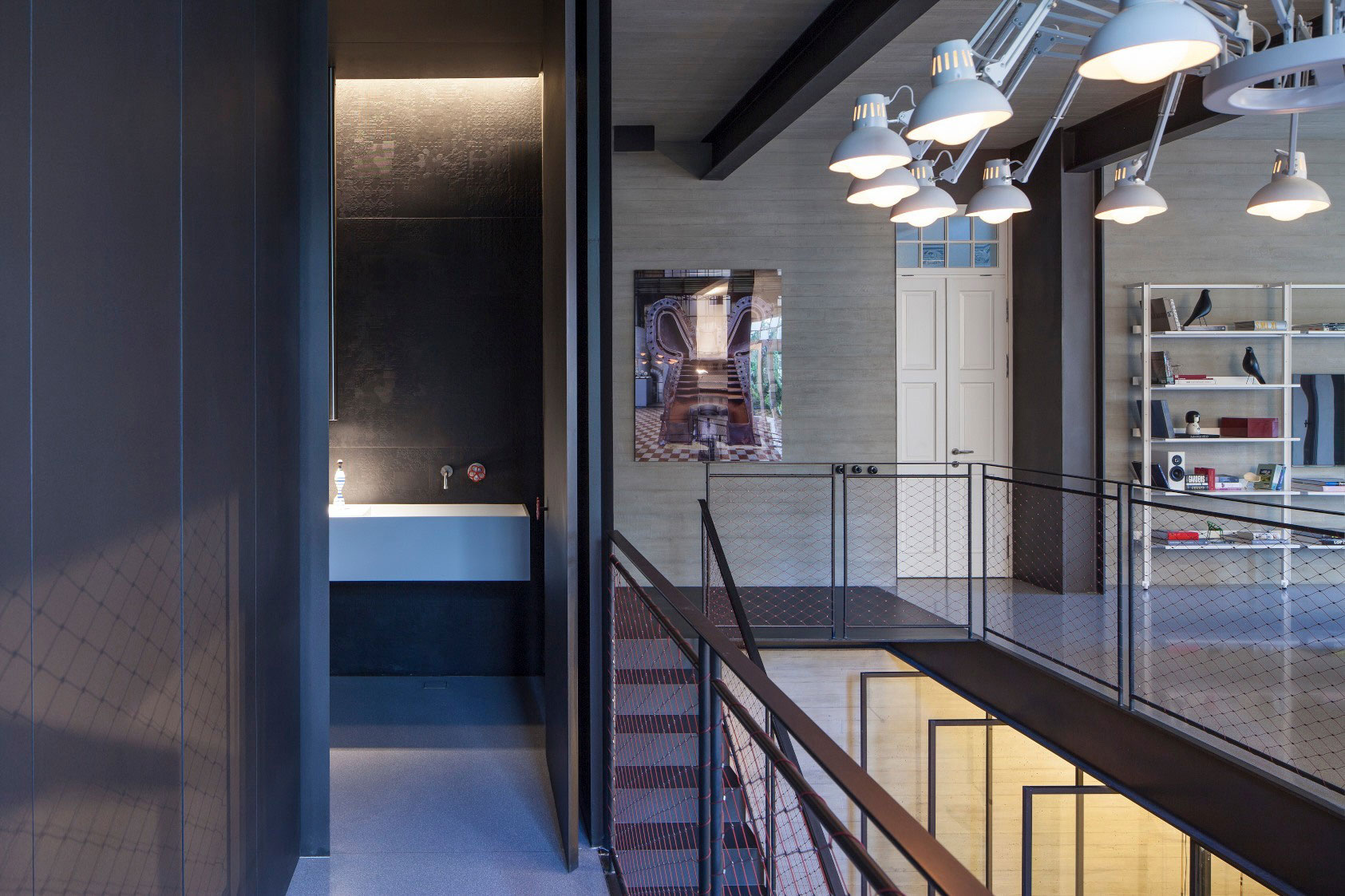 Combination of Modern Design and Neo-Classical Structure of a Historical Apartment in the Heart of Tel Aviv by Pitsou Kedem Architects-24