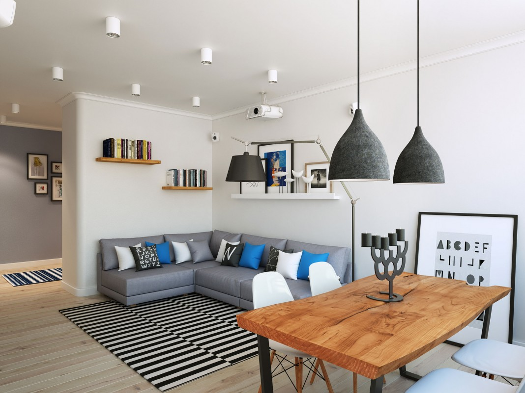 Contemporary Apartment in Moscow Visualized by Geometrium