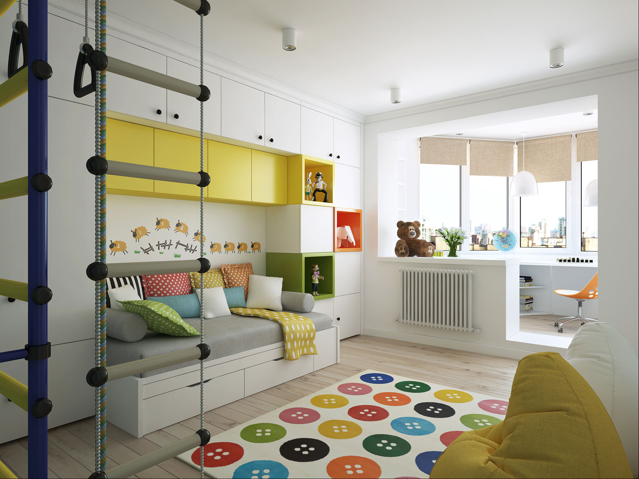 Contemporary Apartment in Moscow Visualized by Geometrium-13