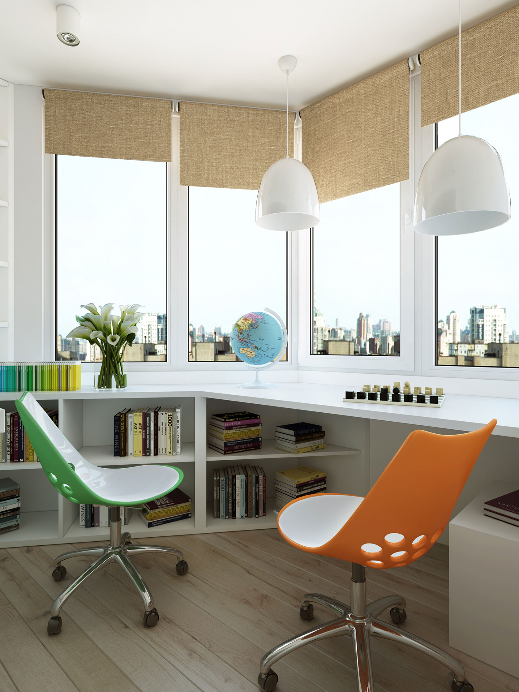 Contemporary Apartment in Moscow Visualized by Geometrium-14