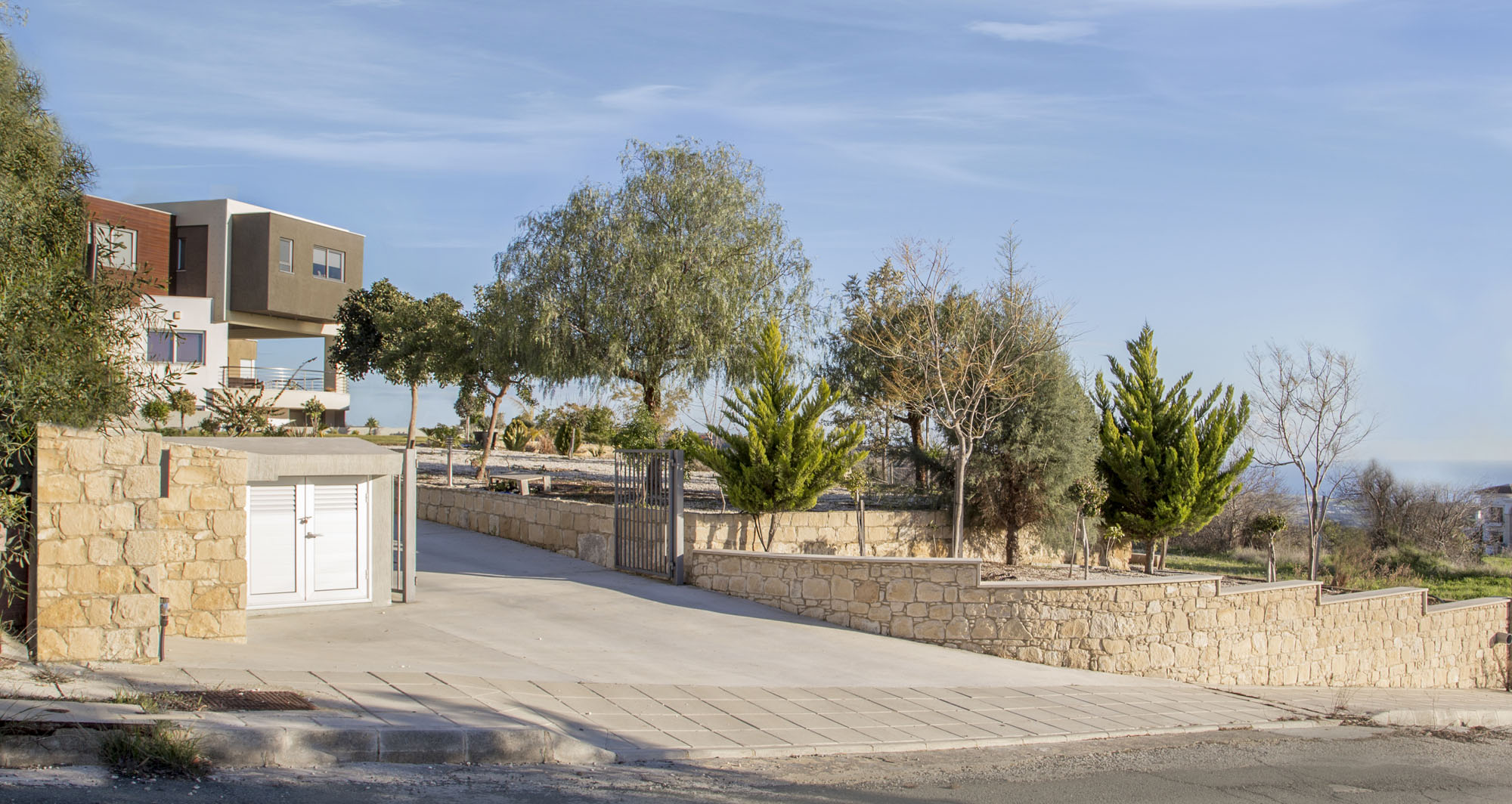 Contemporary Costas & Elena House in Armou Village by sa.ne studio-02