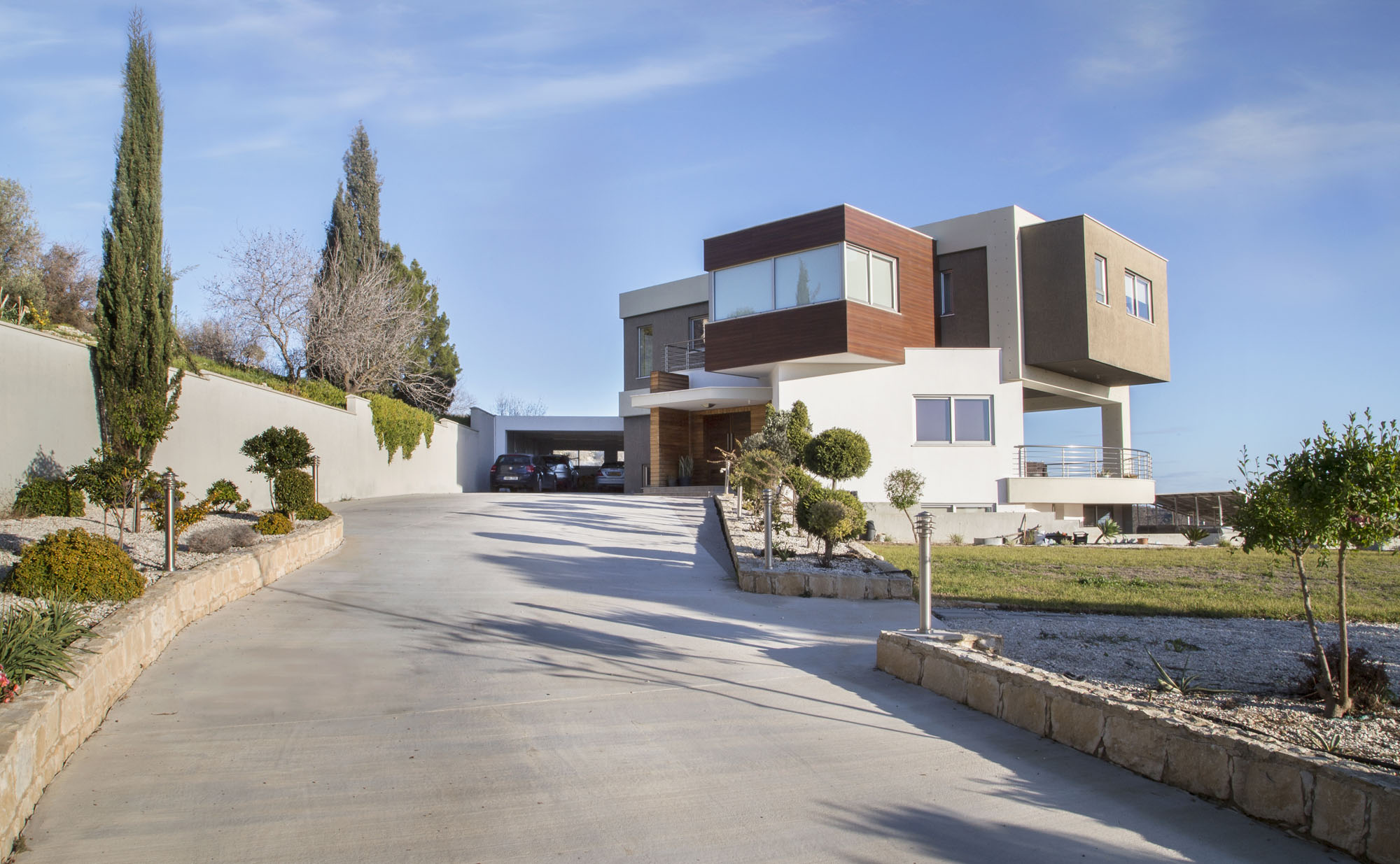 Contemporary Costas & Elena House in Armou Village by sa.ne studio-03