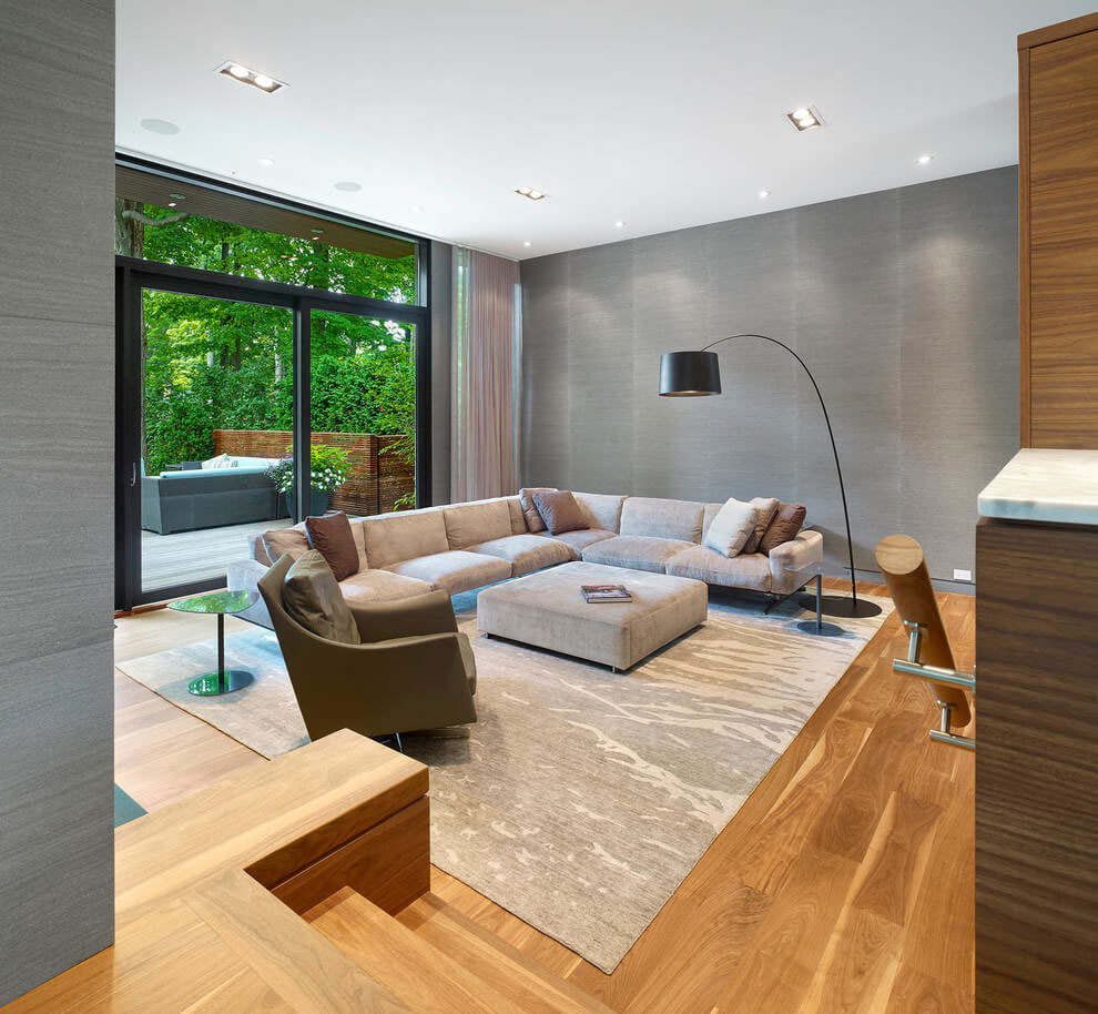 Contemporary Don Mills House in Toronto by Jillian Aimis-04