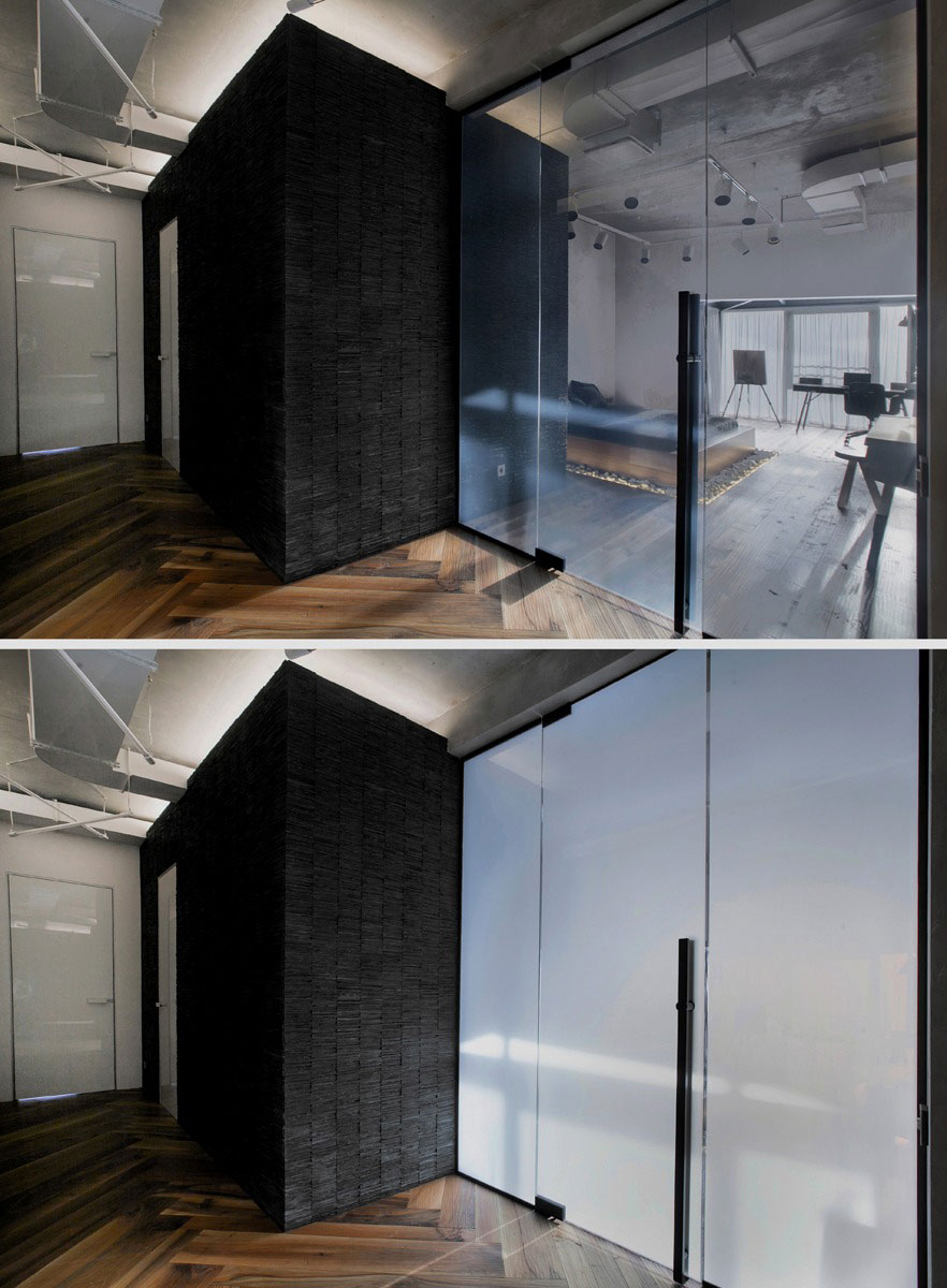 Contemporary Loft With Shipping Container in the Living Room in Saint Petersburg by DA Architects-10