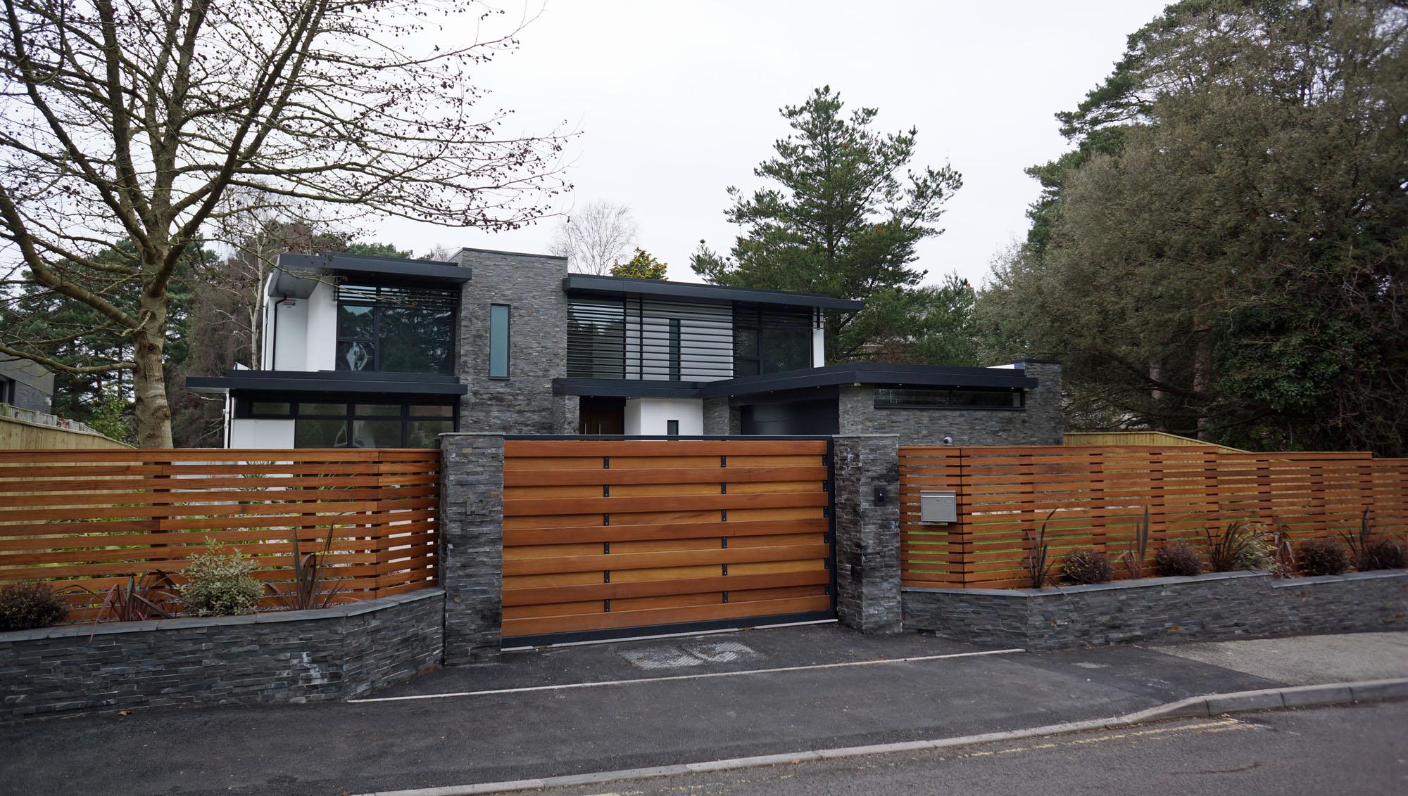 modern home design in dorset