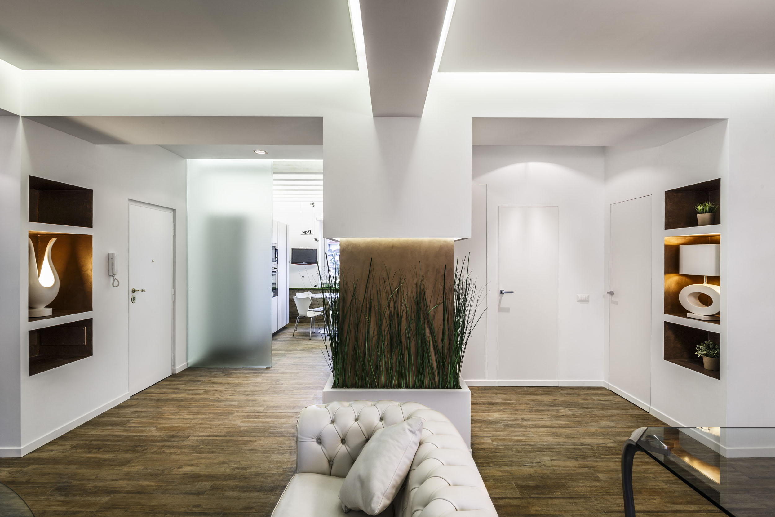 Contemproary Art of Scent of Garden Apartment in Rome by Brain Factory-03