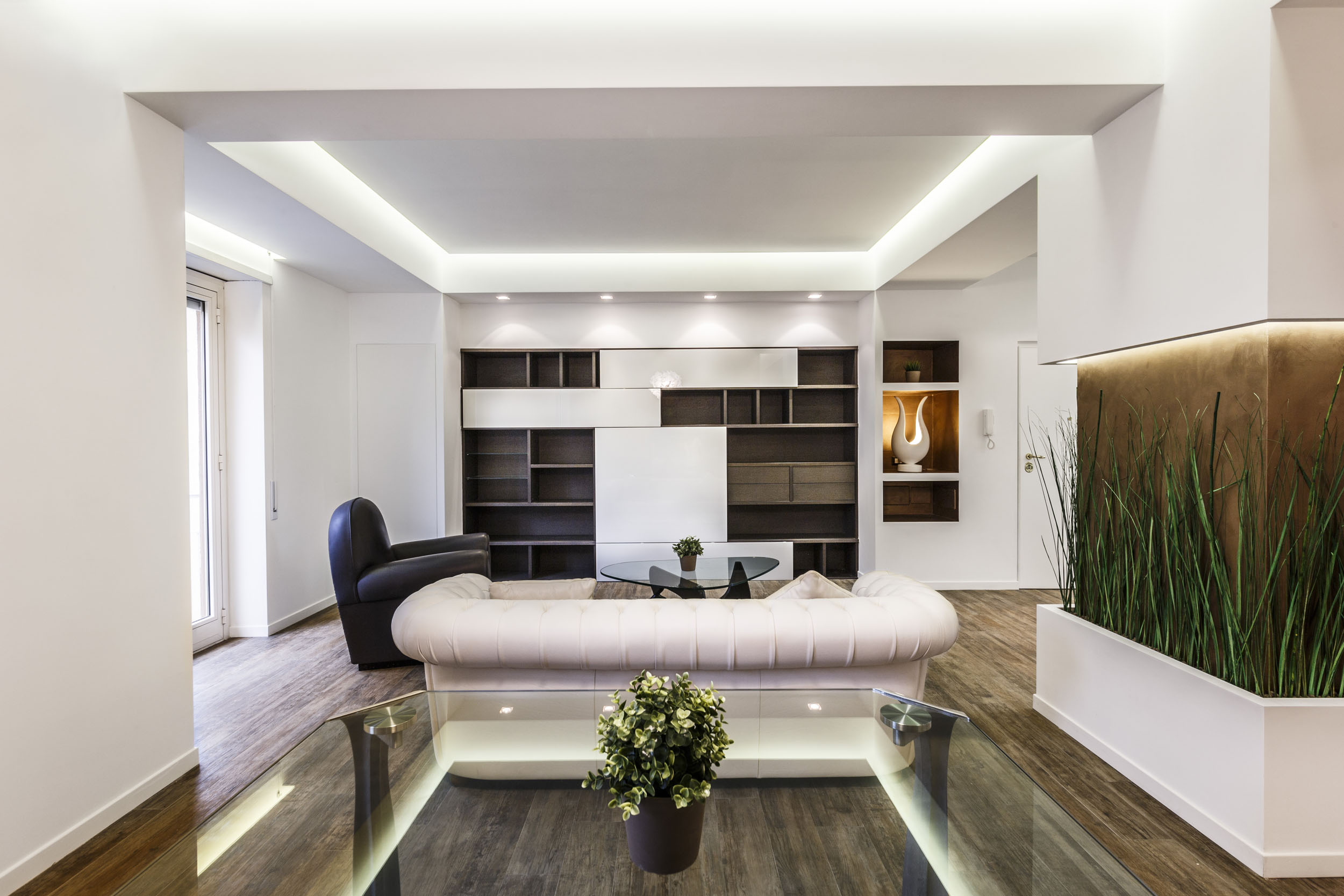 Contemproary Art of Scent of Garden Apartment in Rome by Brain Factory-04