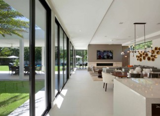 Contermpoary Residence in Boca Raton by Marc-Michaels Interior Design