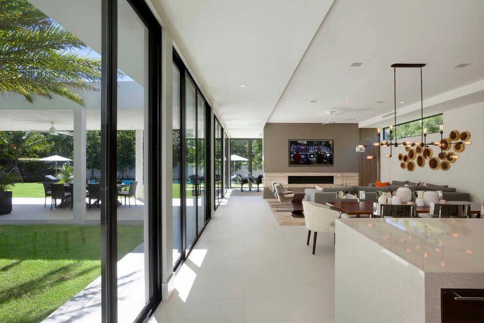 Contemporary Residence In Boca Raton By Marc Michaels Interior Design Caandesign