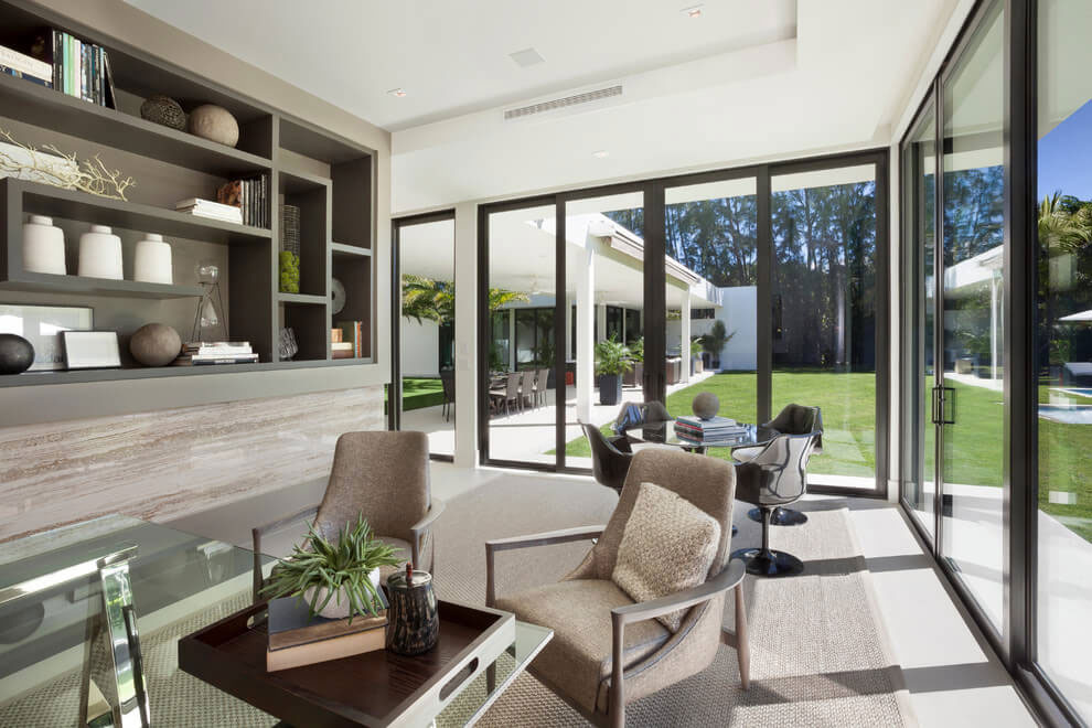 Contemporary Residence in Boca Raton by MarcMichaels Interior