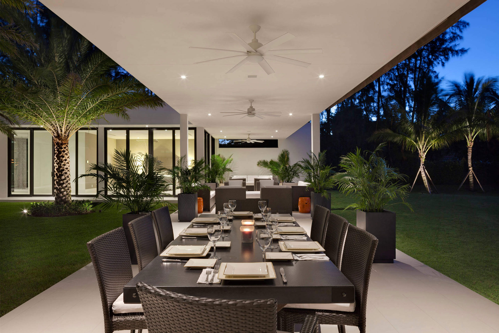 Contemporary Residence In Boca Raton By Marc Michaels