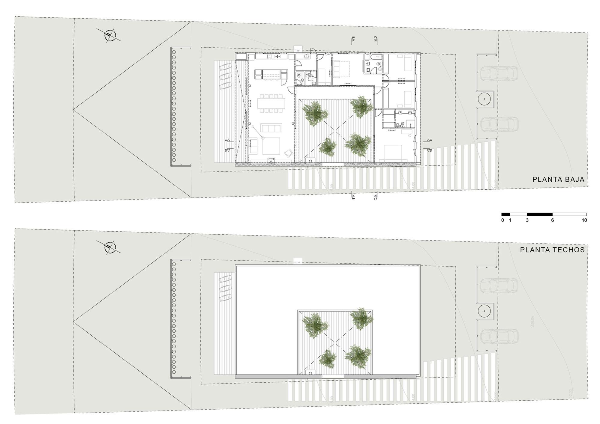 El Patio Courtyard House plan