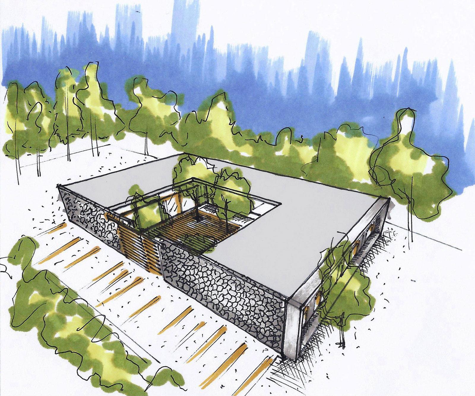 El Patio Courtyard House in La Esmeralda by Lucas Mc Lean-17