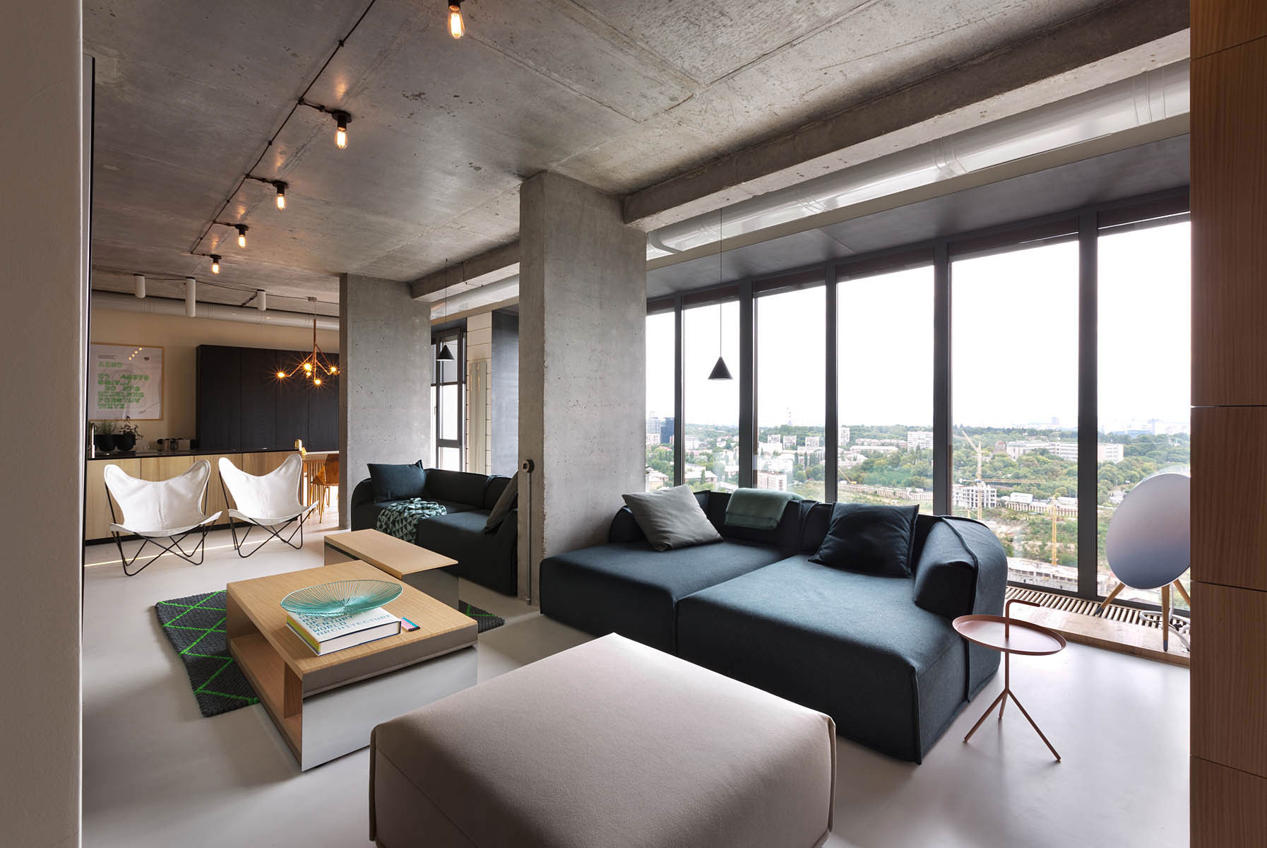 Elegant 30th Level NPL Penthouse by Olga Akulova Design-12