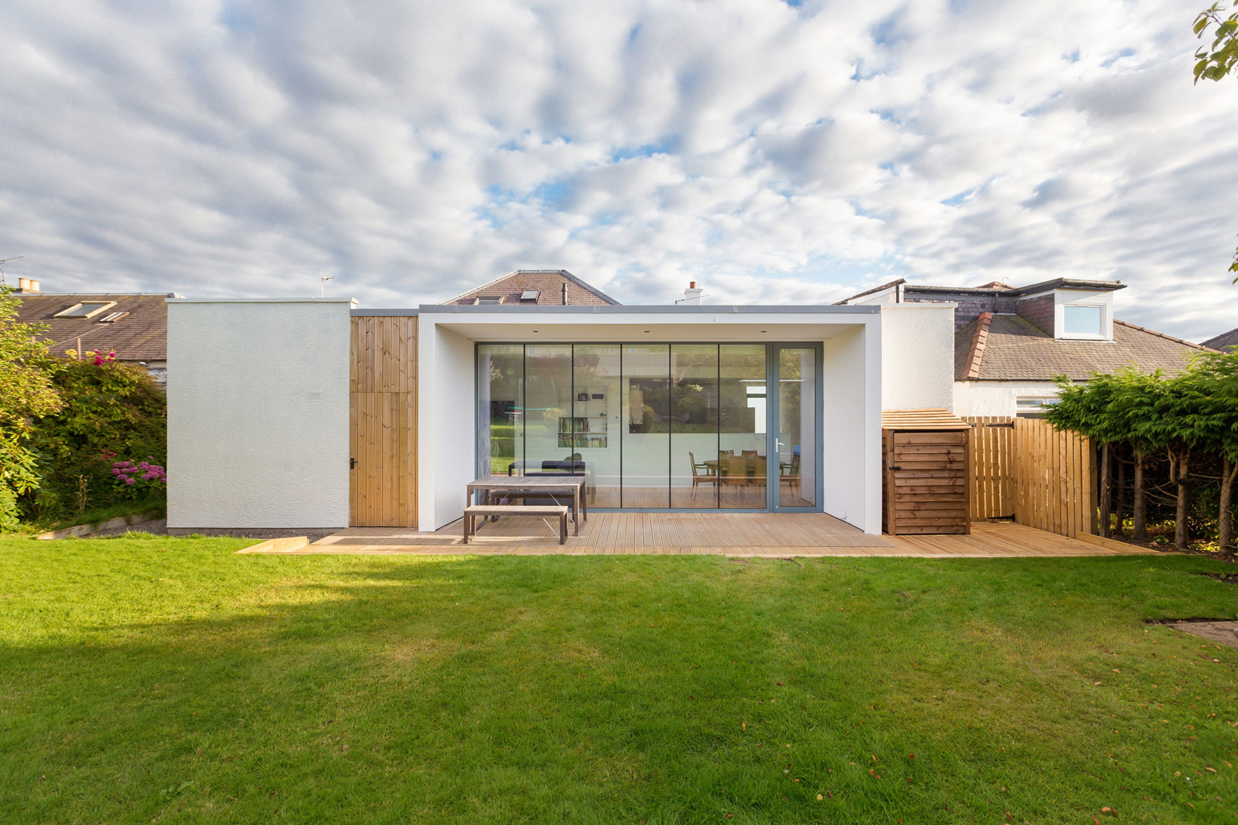 Elegant Contemporary Extension of an 1930's Edinburgh House by Capital A Architecture-01