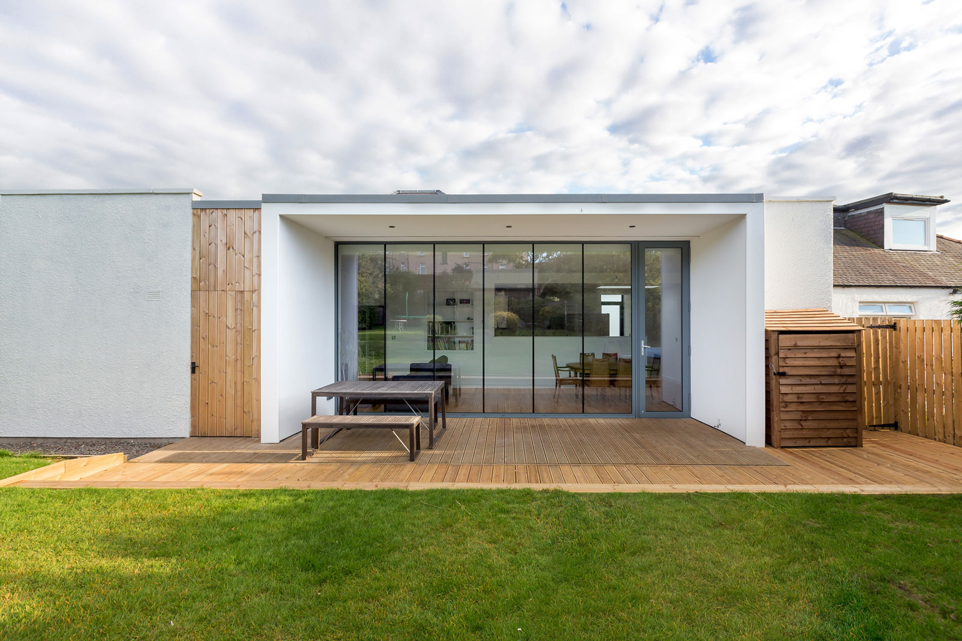 Elegant Contemporary Extension of an 1930's Edinburgh House by Capital A Architecture-02