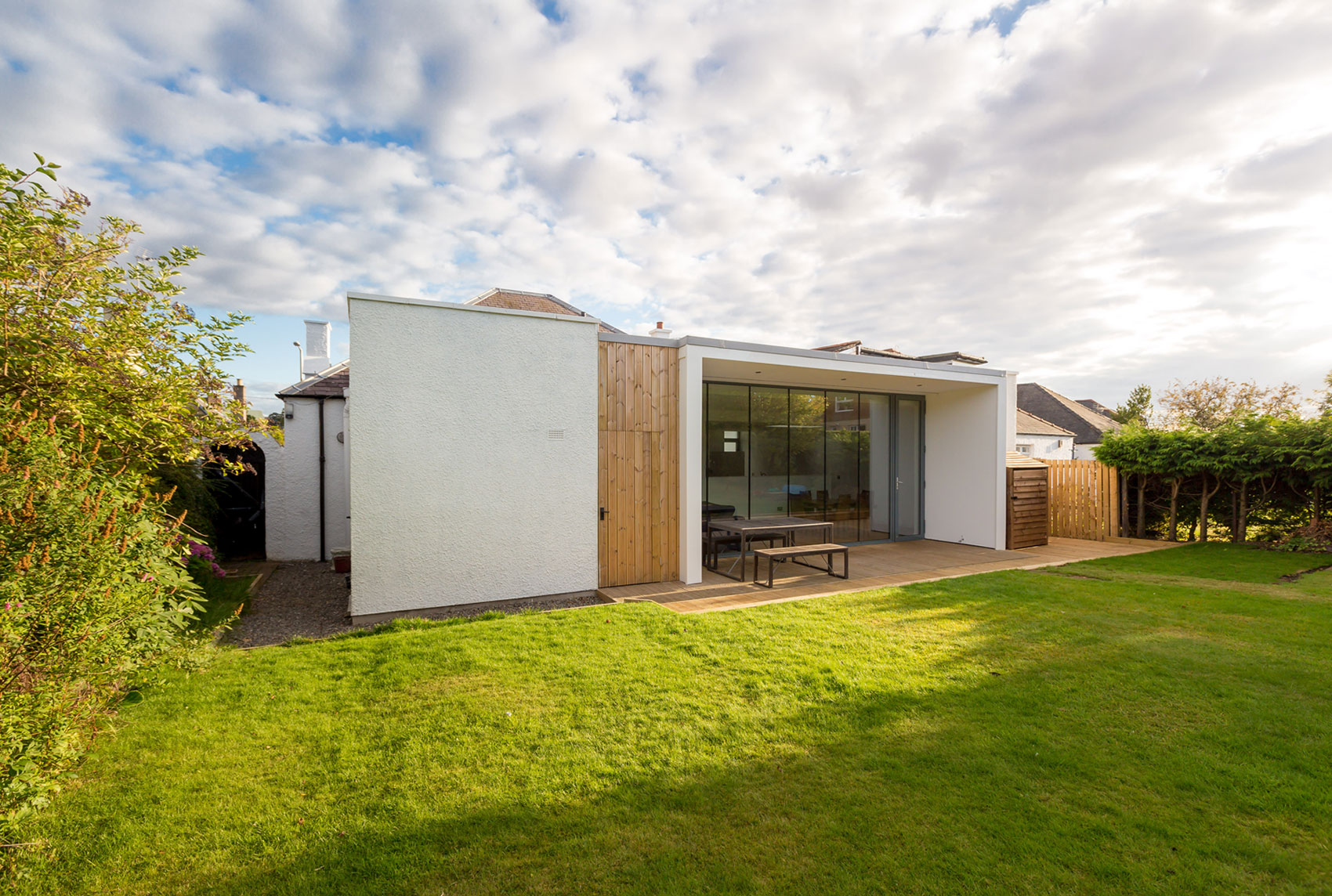 Elegant Contemporary Extension of an 1930's Edinburgh House by Capital A Architecture-04