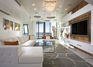Elegant Jade Ocean Penthouse 2 near Sunny Isles Beach by Pfuner Design