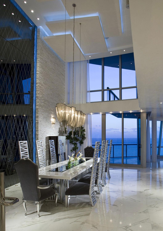 Elegant Jade Ocean Penthouse 2 near Sunny Isles Beach by Pfuner Design-10