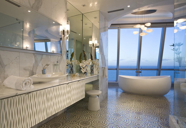 Elegant Jade Ocean Penthouse 2 near Sunny Isles Beach by Pfuner Design-17