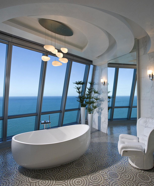 Elegant Jade Ocean Penthouse 2 near Sunny Isles Beach by Pfuner Design-18