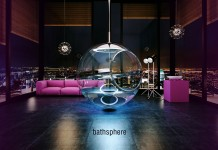 Glass Bathsphere, the Future of Bathroom Baths by Alexander Zhukovsky