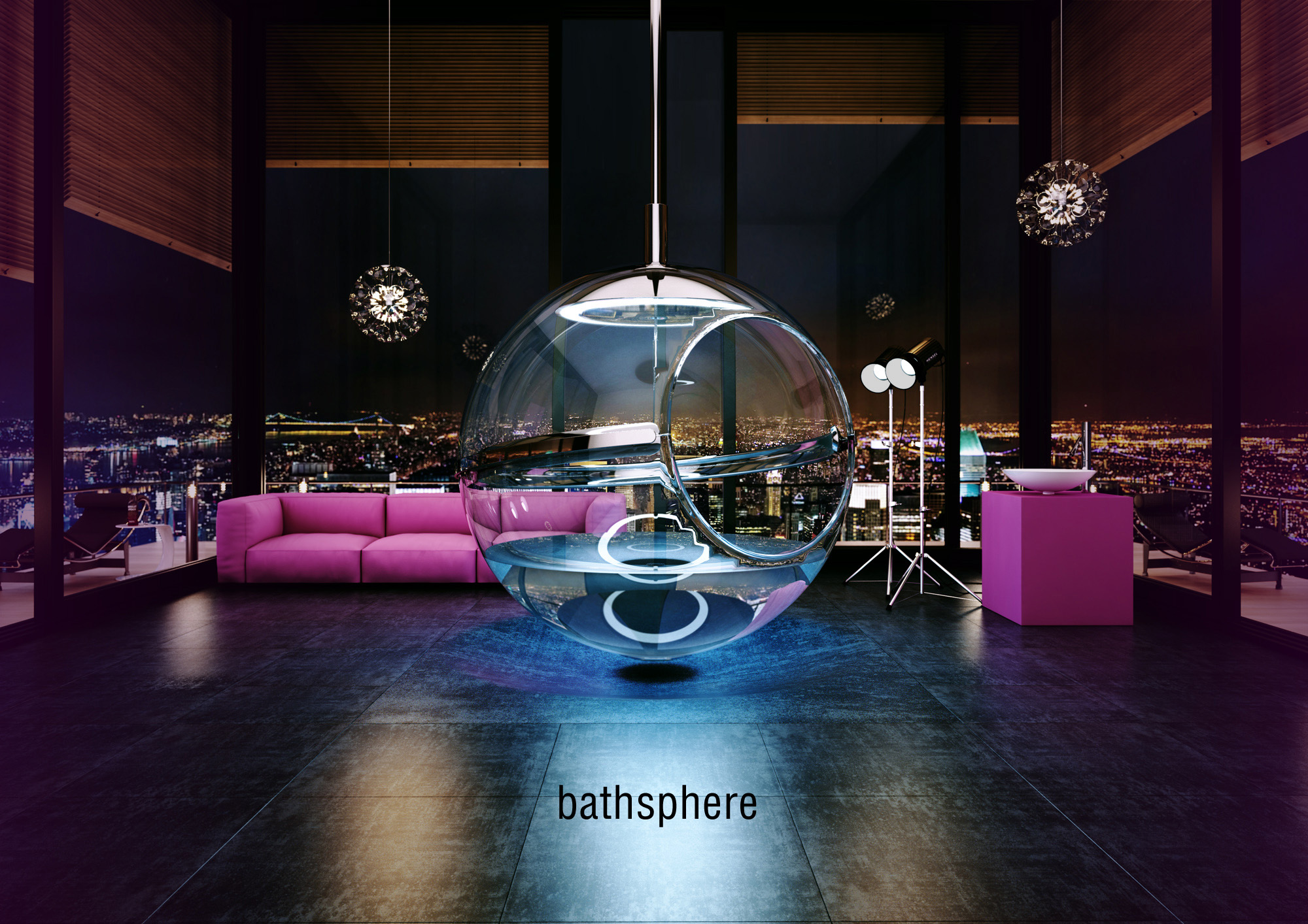 Glass Bathsphere, the Future of Bathroom Baths by Alexander Zhukovsky-01