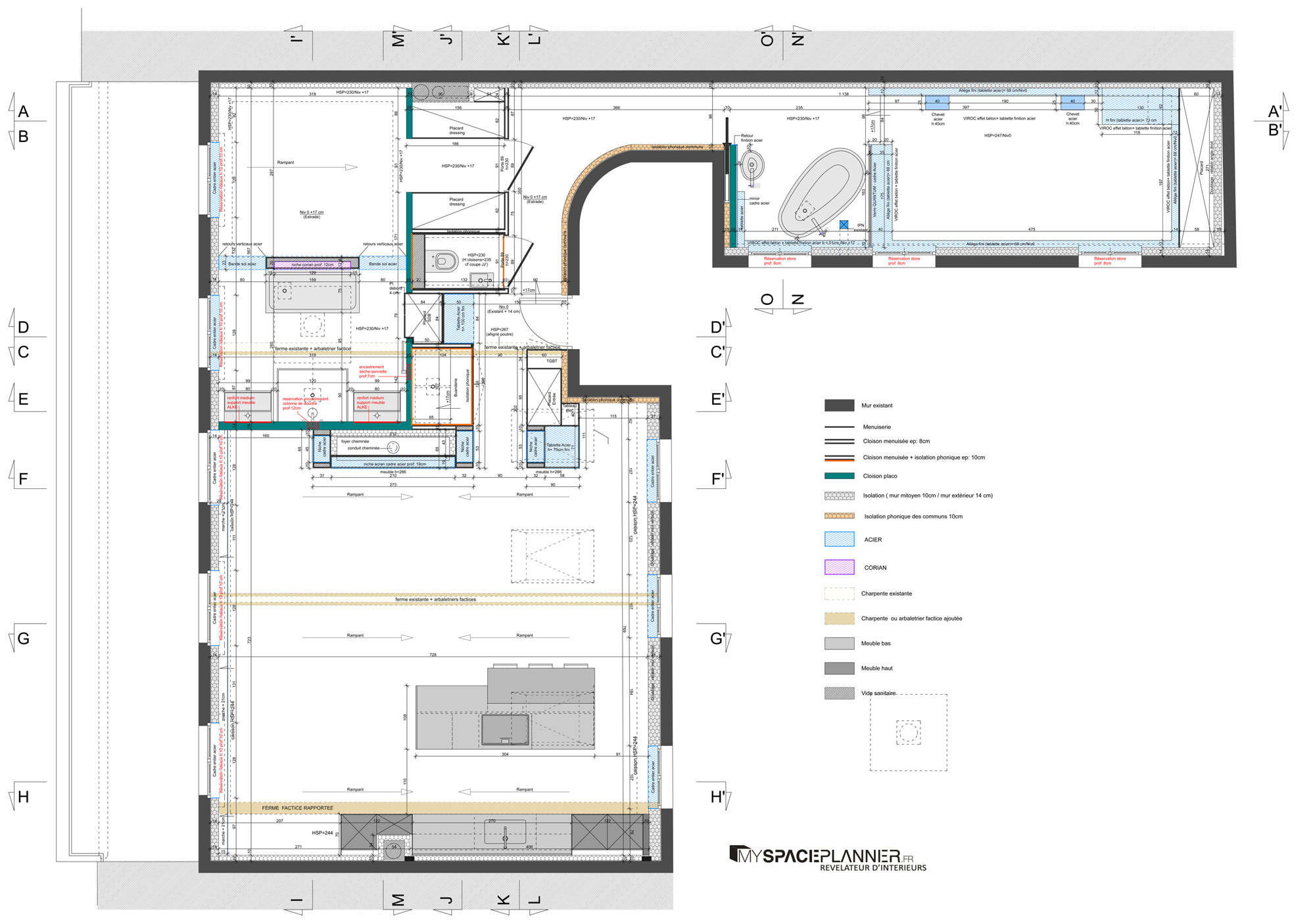 Fabuleux Stunning 120m2 House Plans Ideas - Best idea home design  NI67