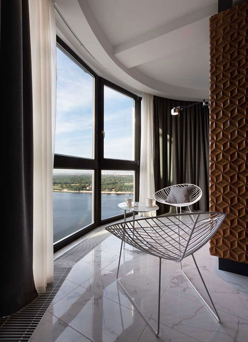 Graphite Penthouse in Kiev by Denis Rakaev-09
