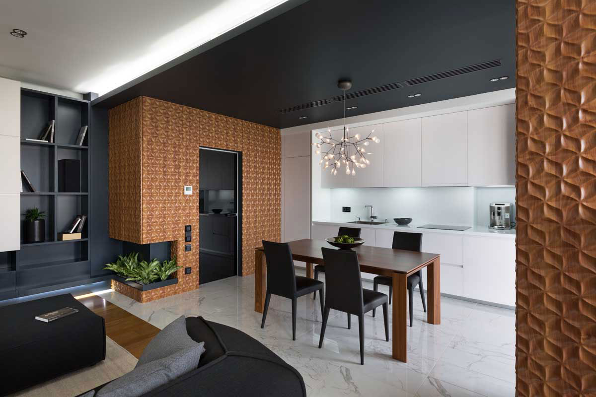Graphite Penthouse in Kiev by Denis Rakaev-10