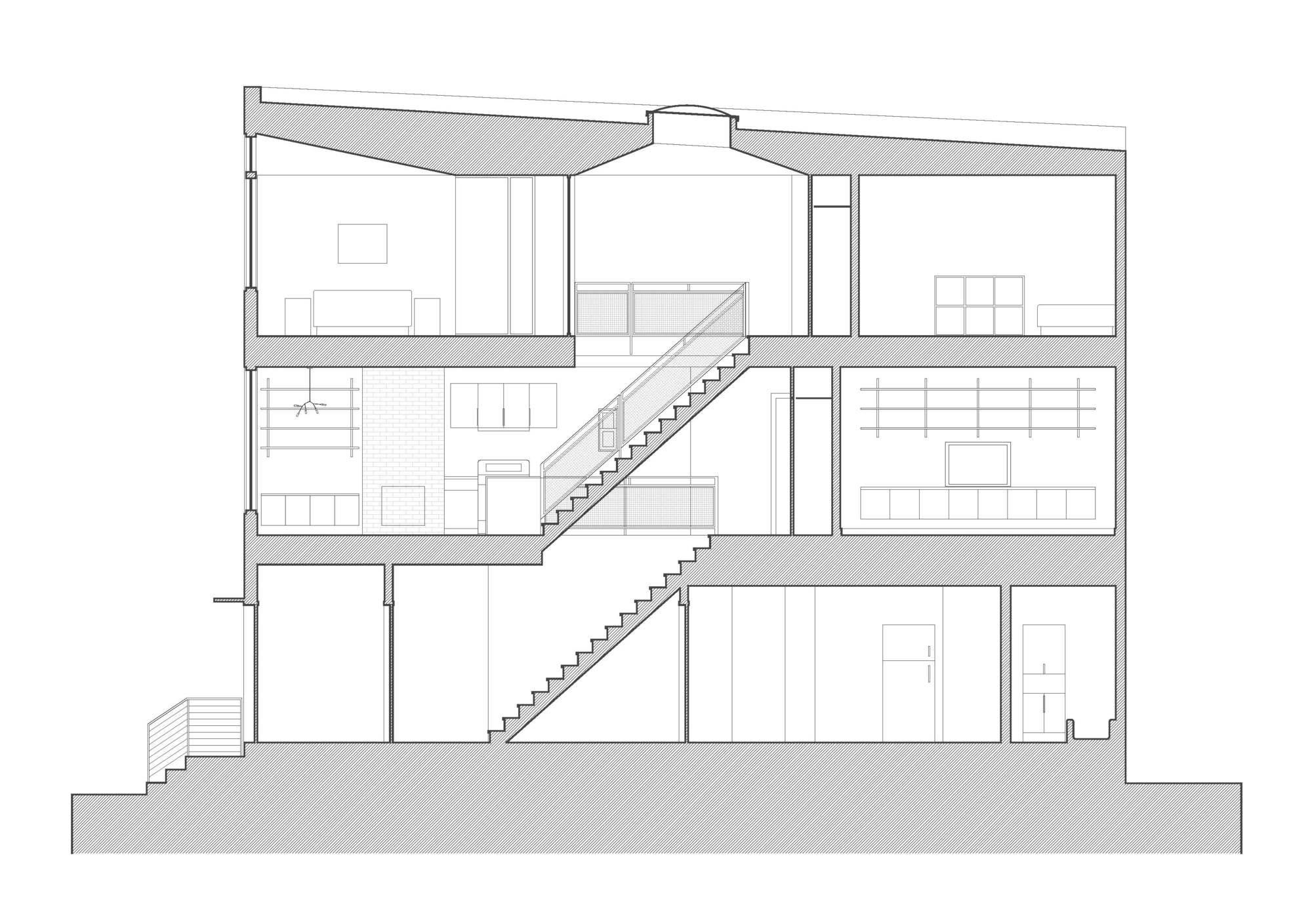 Gutman-Umansky Townhouse by Etelamaki Architecture-17