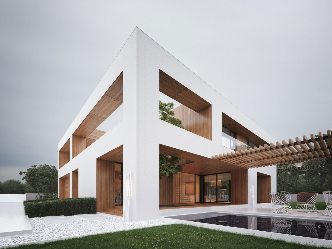 Holes House Visualised by Michal Nowak