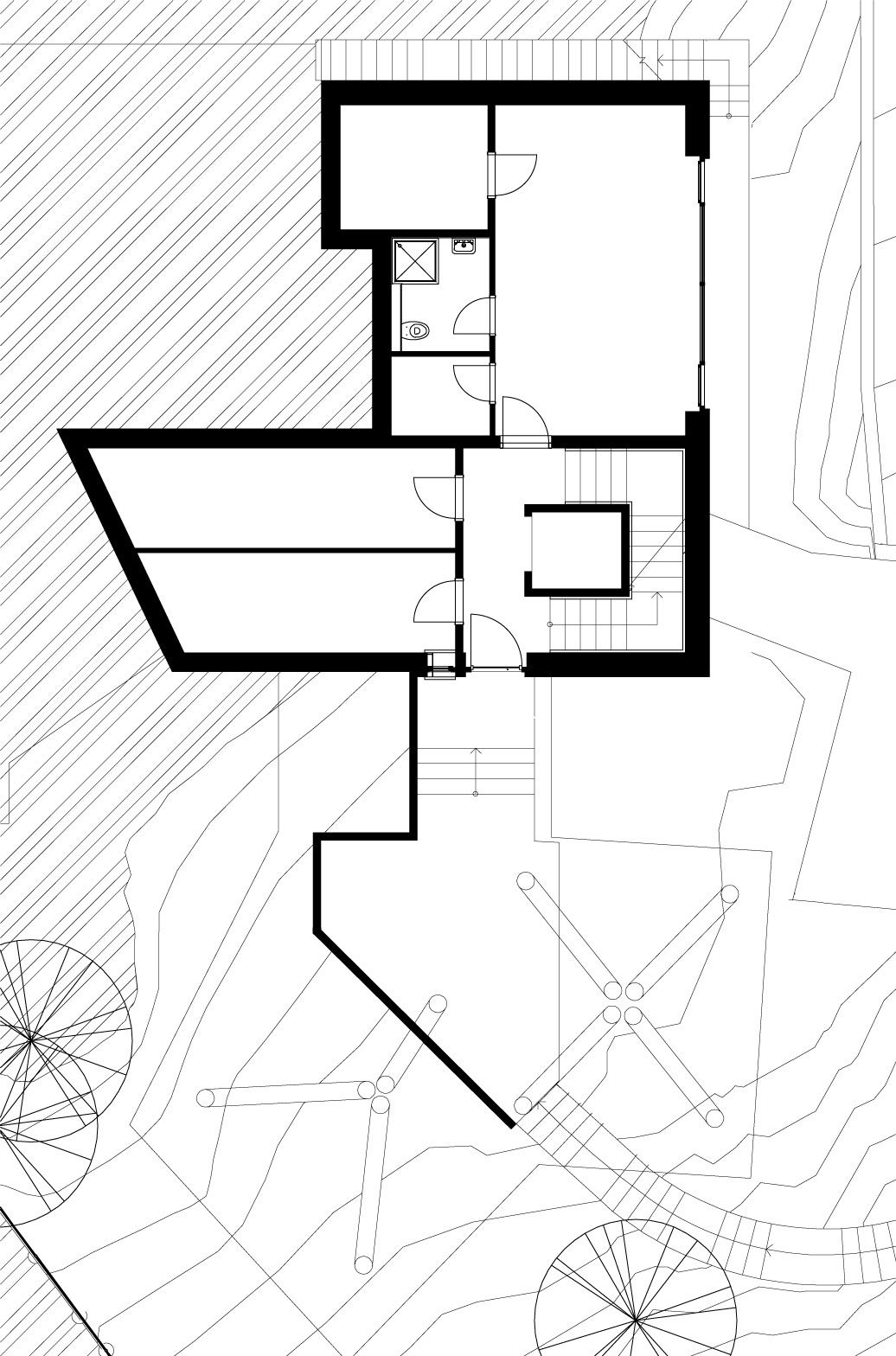 House Between The Trees Inspired From the Legendary Tugendhat Villa By Architekti Šebo Lichý-09