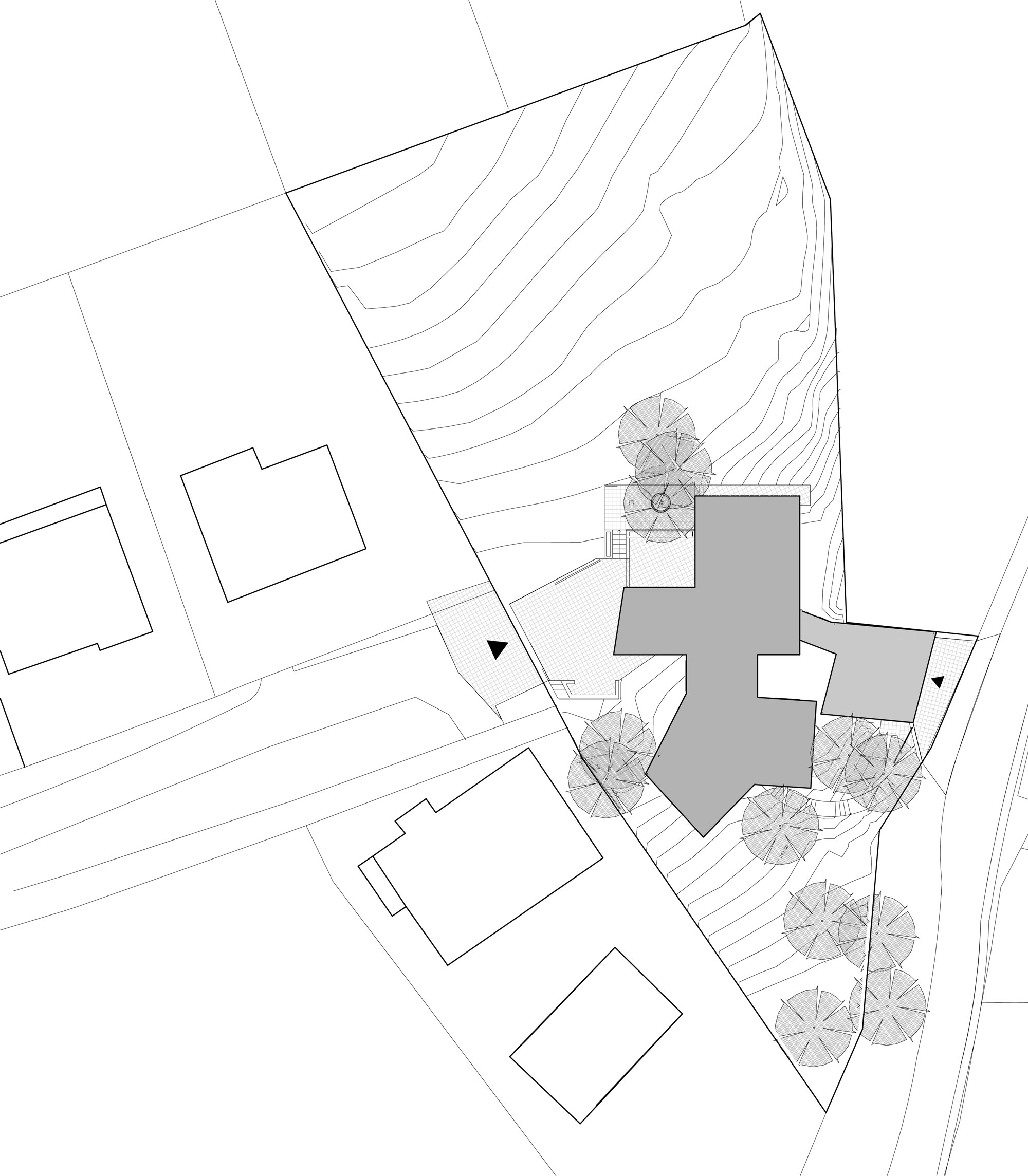 House Between The Trees Inspired From the Legendary Tugendhat Villa By Architekti Šebo Lichý-12