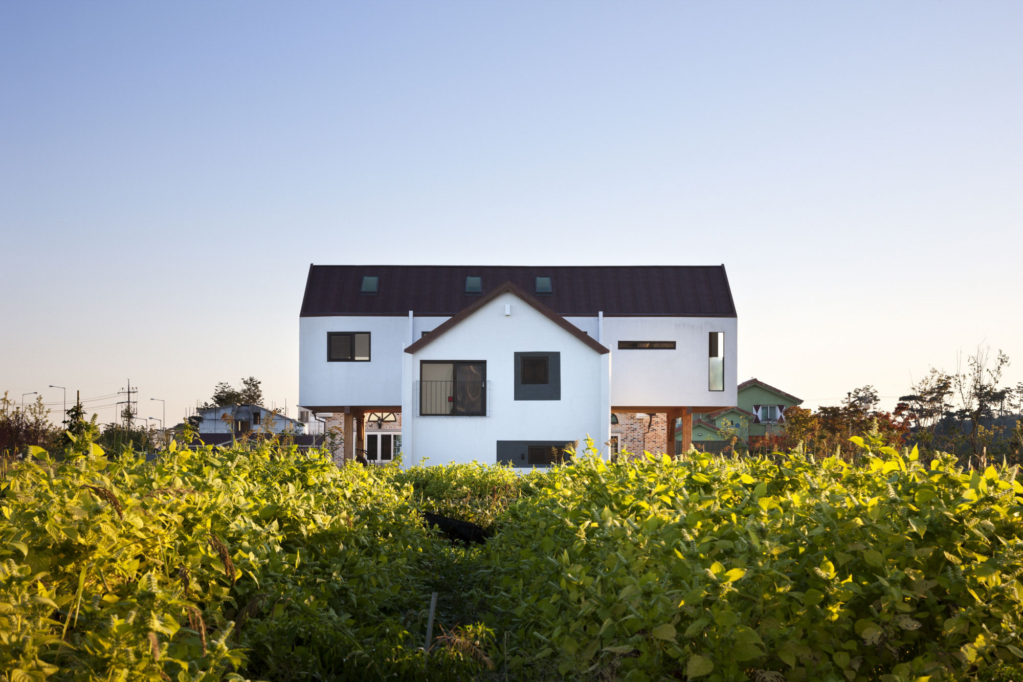 Iksan T Shaped House in South Korea by KDDH architects-02