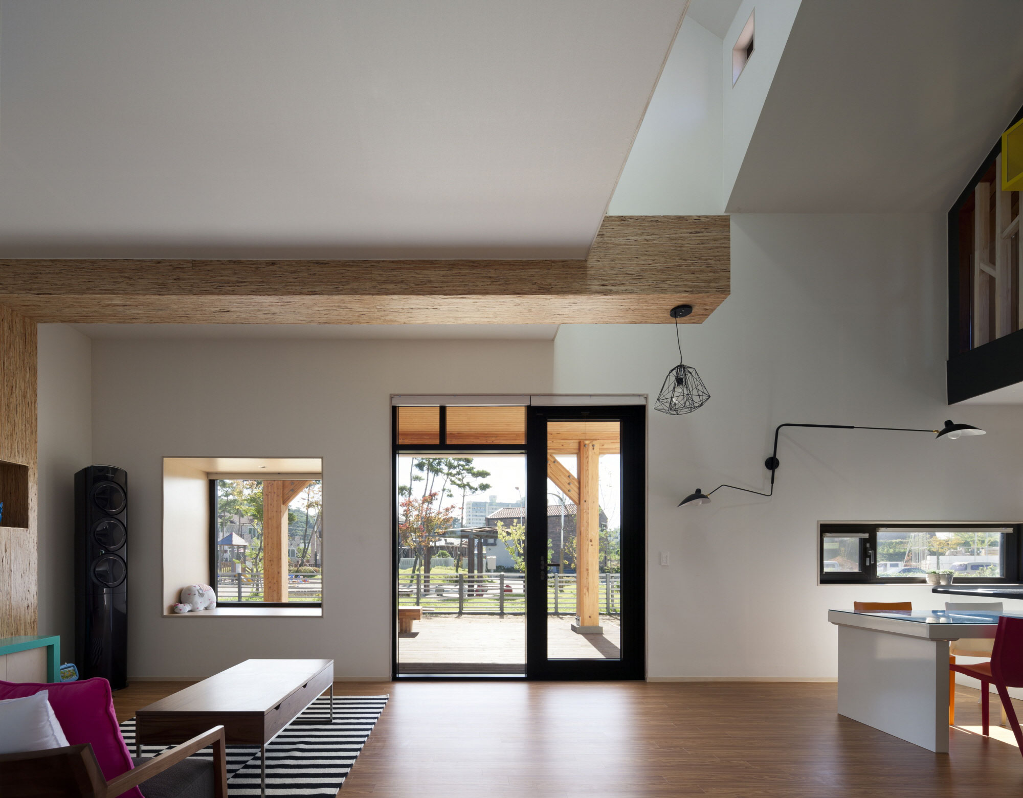 Iksan T Shaped House in South Korea by KDDH architects-10
