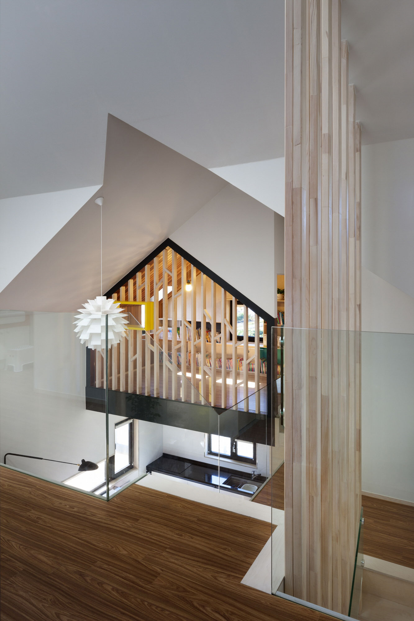 Iksan T Shaped House in South Korea by KDDH architects-15