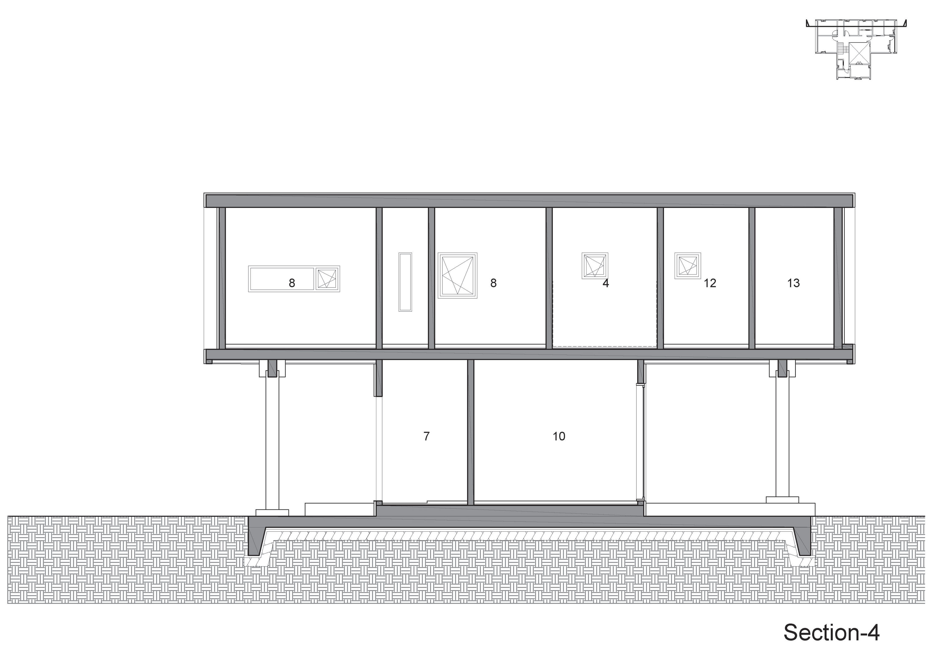 Iksan t shaped house in south korea by kddh architects - T shaped house plans ...