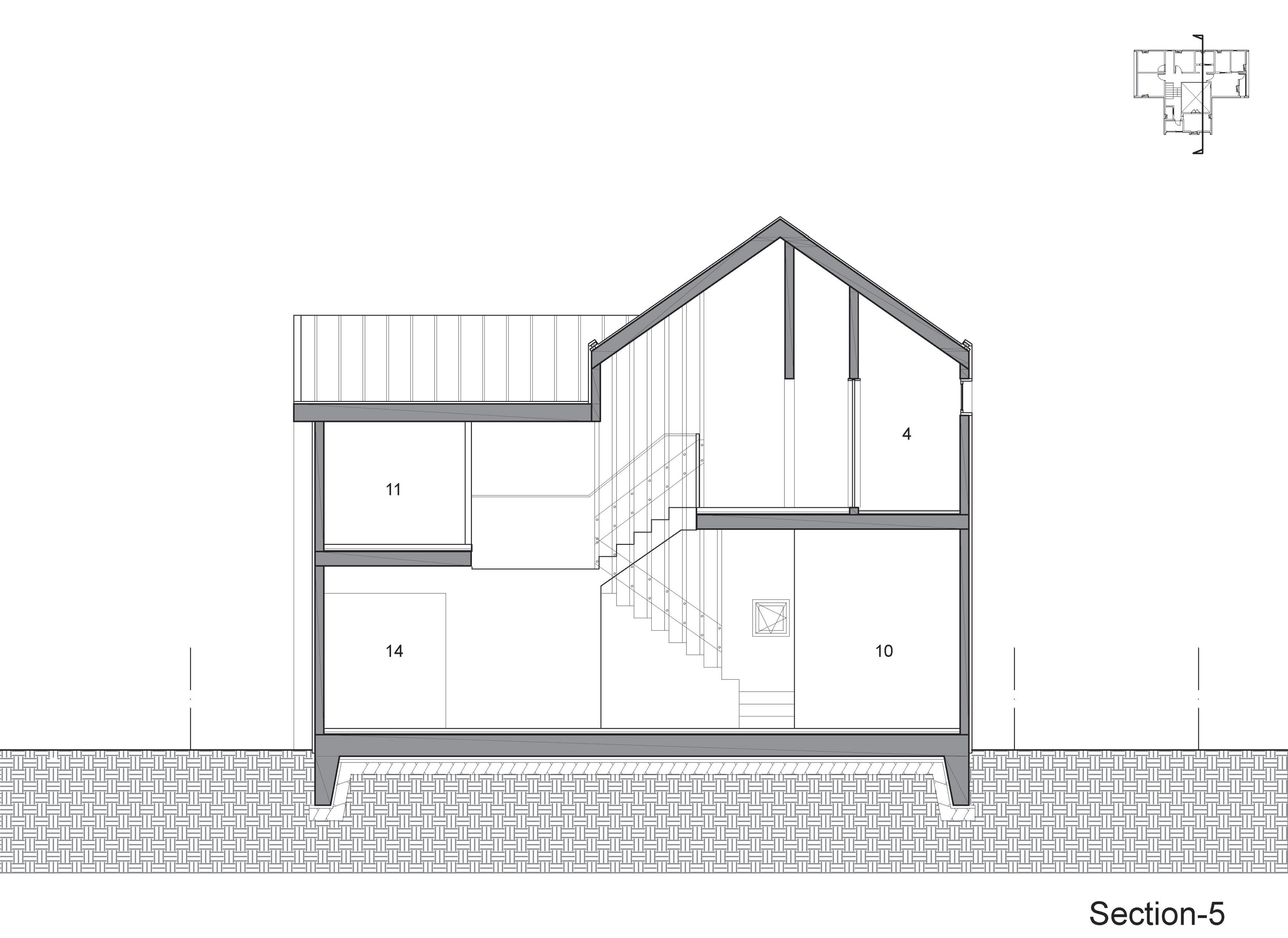 Iksan T Shaped House in South Korea by KDDH architects-32