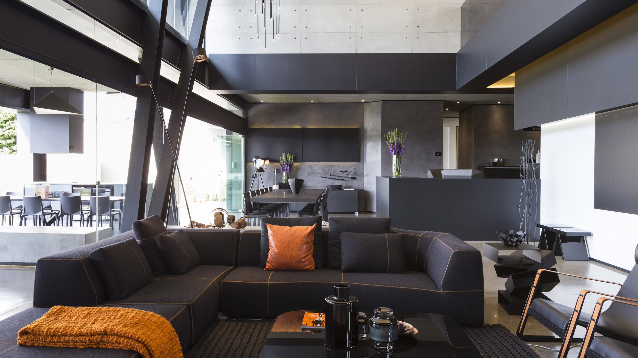 Kloof Road Masterpiece House in Johannesburg by Nico van der Meulen Architects-17