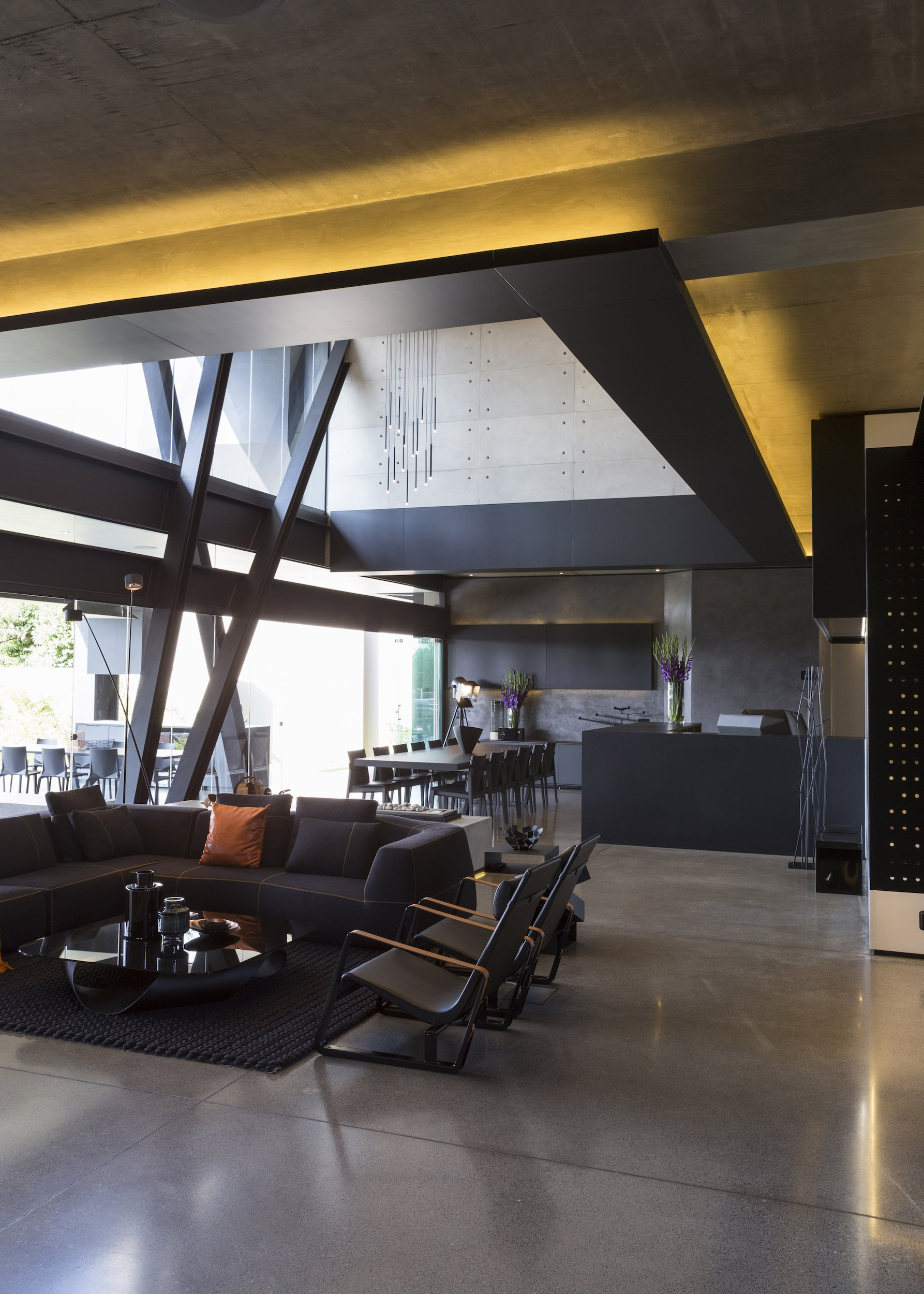 Kloof Road Masterpiece House in Johannesburg by Nico van der Meulen Architects-18