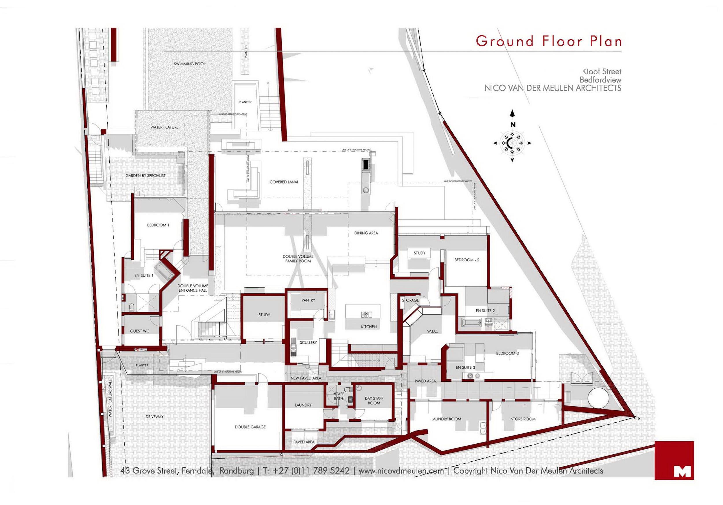 Kloof Road Masterpiece House in Johannesburg by Nico van der Meulen Architects-40