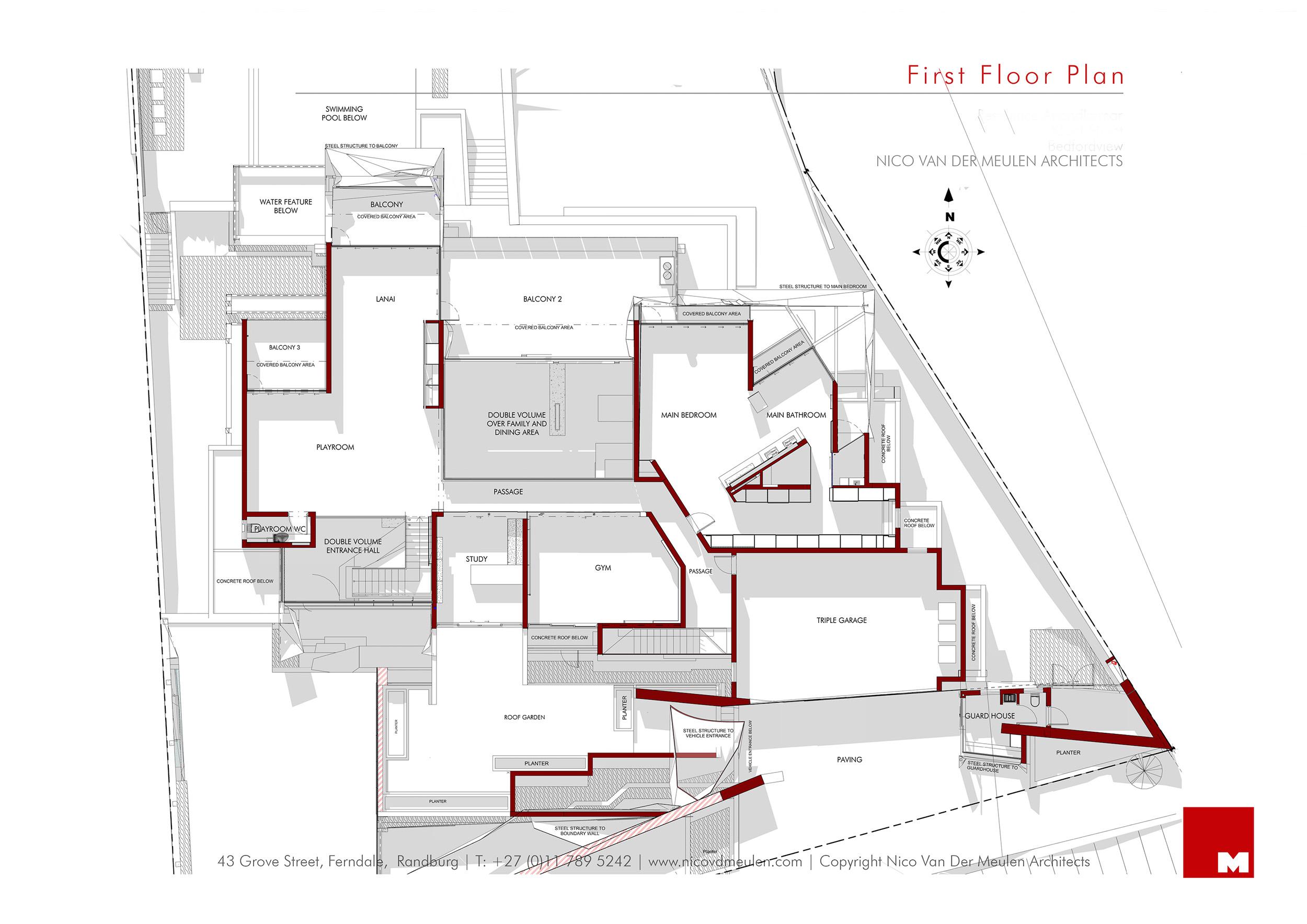 Kloof Road Masterpiece House in Johannesburg by Nico van der Meulen Architects-41