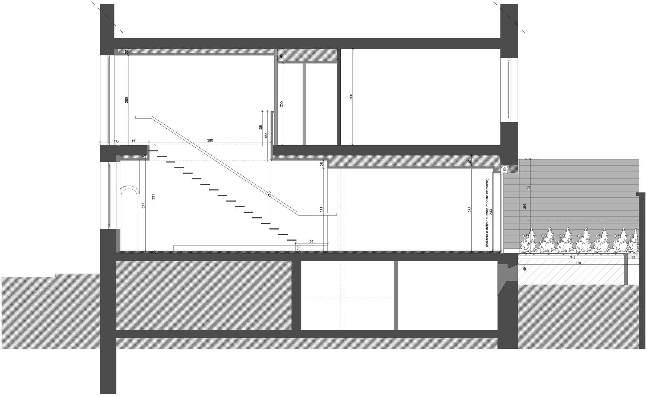 ... Luxury 150M2 Duplex Apartment Near Parc Sainte Marie In Nancy By  MYSPACEPLANNER 26