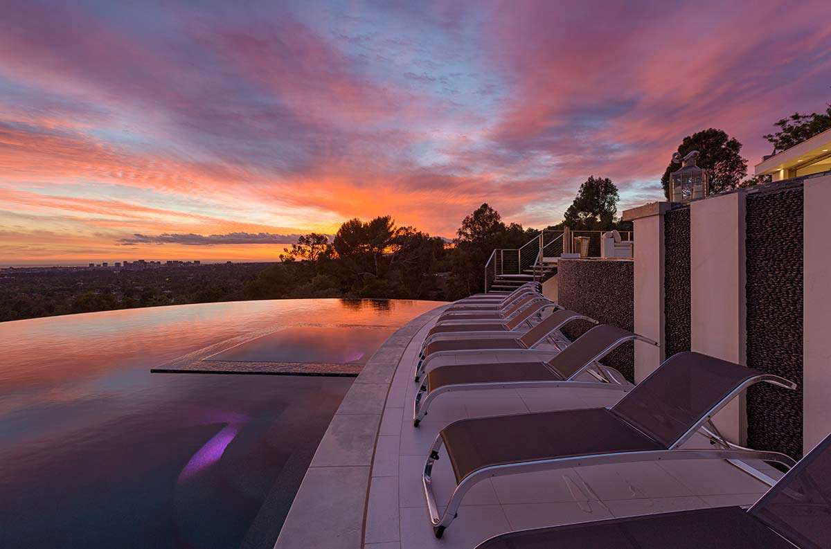 Luxury home on sunset strip in west hollywood - Architecture interieurs contemporains sunset strip ...