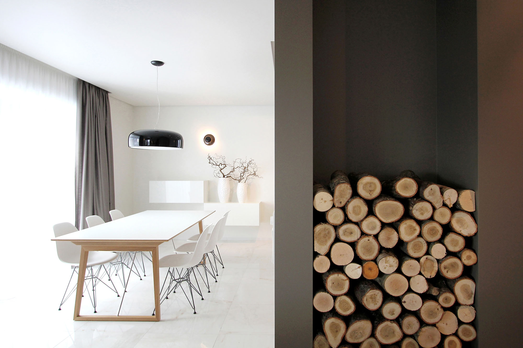 Minimal Style and White Colour Theme of House 02 by Ramunas Manikas-09