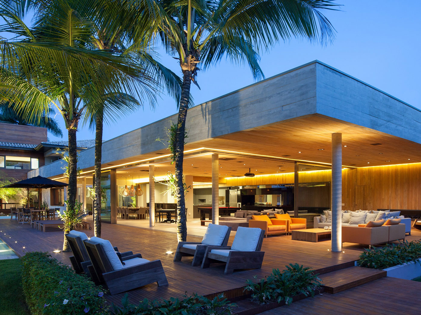 Modern Leisure Pavilion of MZ Residence by Basiches Arquitetos-13